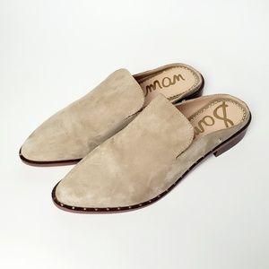 Sam Edelman Lewellyn Suede Mule Shoes